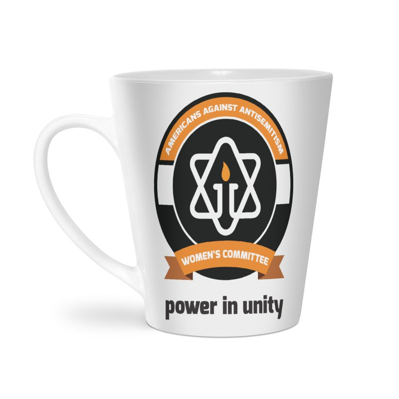 Women's Committee of Americans Against Antisemitism Accessories Latte Mug by Americans Against Antisemitism's Artist Shop