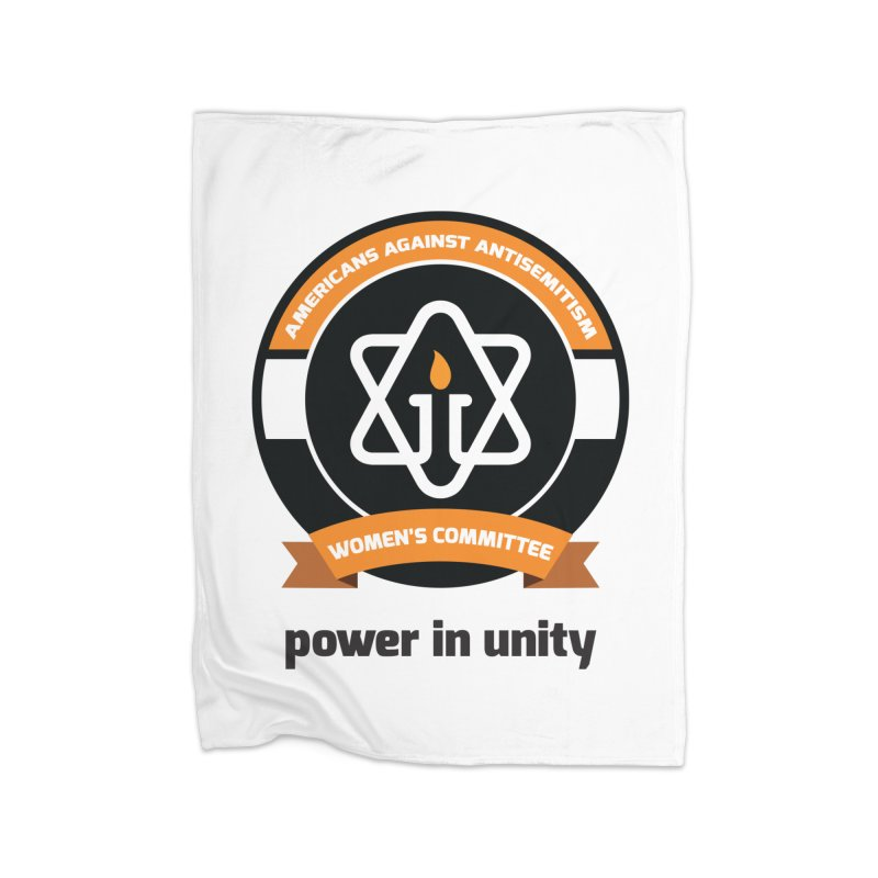 Women's Committee of Americans Against Antisemitism Home Blanket by Americans Against Antisemitism's Artist Shop