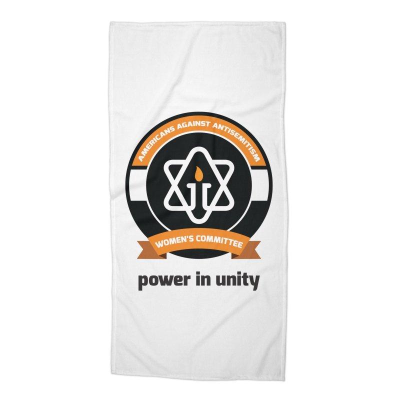 Women's Committee of Americans Against Antisemitism Accessories Beach Towel by Americans Against Antisemitism's Artist Shop