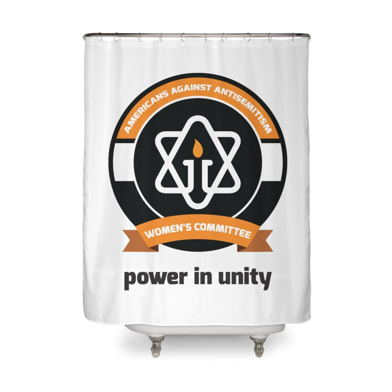 Women's Committee of Americans Against Antisemitism Home Shower Curtain by Americans Against Antisemitism's Artist Shop