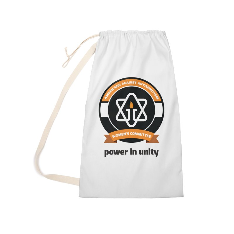 Women's Committee of Americans Against Antisemitism Accessories Laundry Bag Bag by Americans Against Antisemitism's Artist Shop