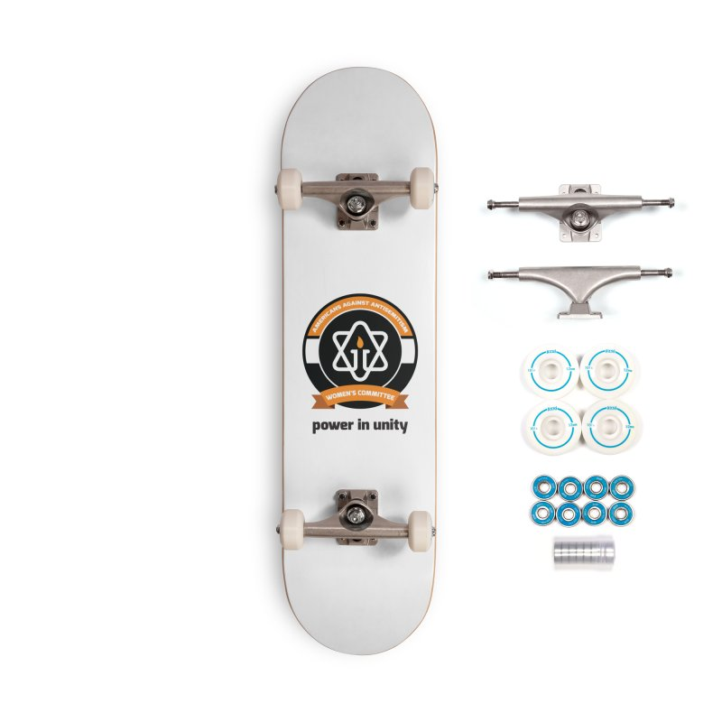 Women's Committee of Americans Against Antisemitism Accessories Skateboard by Americans Against Antisemitism's Artist Shop