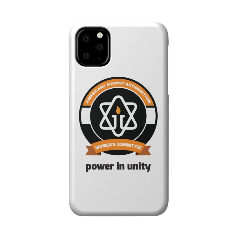 Women's Committee of Americans Against Antisemitism Accessories Phone Case by Americans Against Antisemitism's Artist Shop