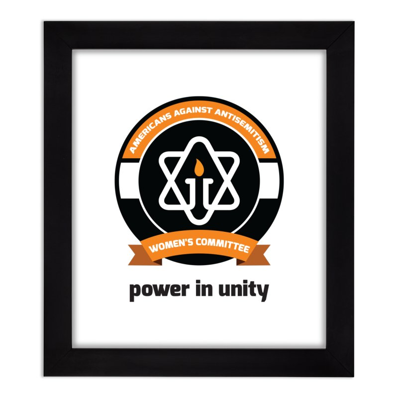 Women's Committee of Americans Against Antisemitism Home Framed Fine Art Print by Americans Against Antisemitism's Artist Shop