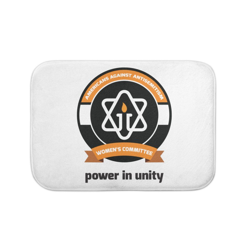 Women's Committee of Americans Against Antisemitism Home Bath Mat by Americans Against Antisemitism's Artist Shop