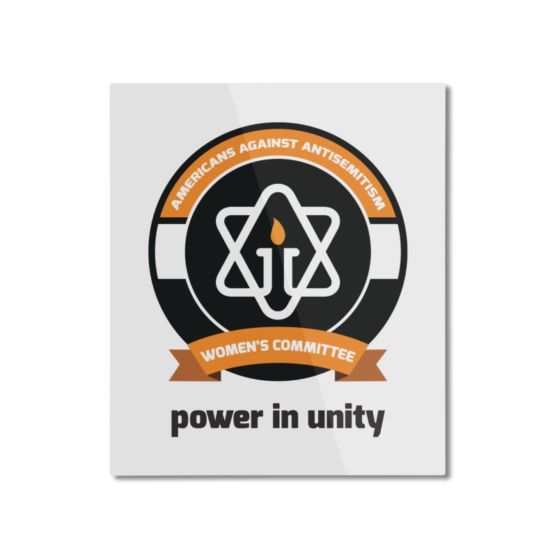 Women's Committee of Americans Against Antisemitism Home Mounted Aluminum Print by Americans Against Antisemitism's Artist Shop