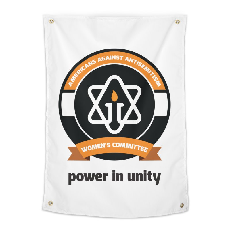 Women's Committee of Americans Against Antisemitism Home Tapestry by Americans Against Antisemitism's Artist Shop