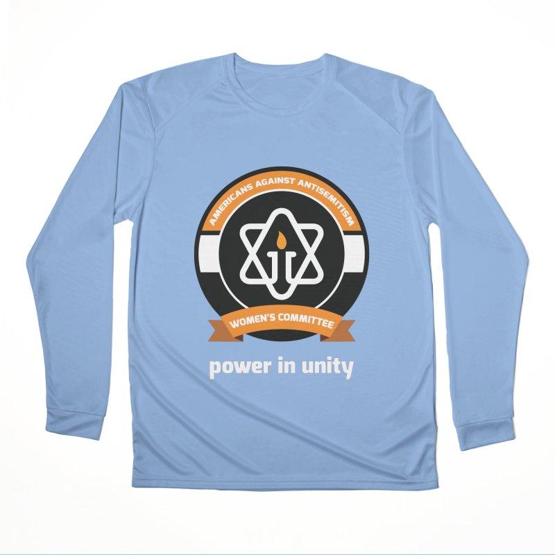 Women's Committee of Americans Against Antisemitism - Dark Background Women's Longsleeve T-Shirt by Americans Against Antisemitism's Artist Shop