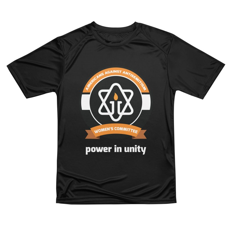 Women's Committee of Americans Against Antisemitism - Dark Background Women's Performance Unisex T-Shirt by Americans Against Antisemitism's Artist Shop