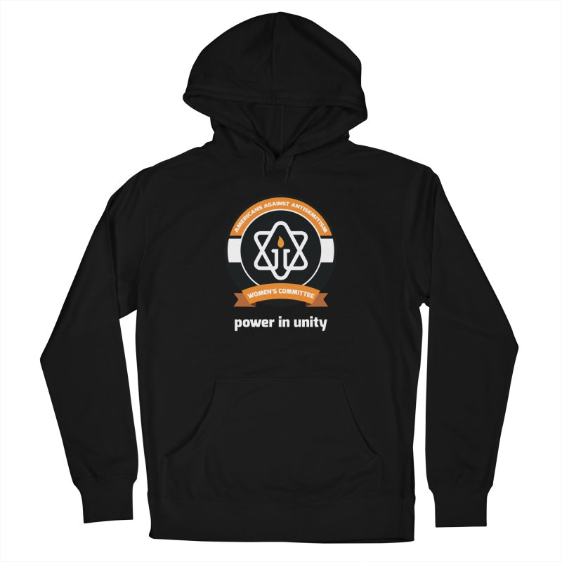 Women's Committee of Americans Against Antisemitism - Dark Background Women's French Terry Pullover Hoody by Americans Against Antisemitism's Artist Shop