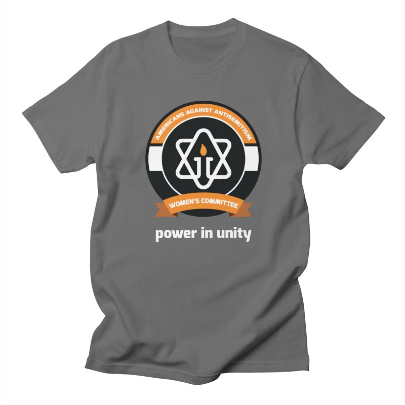 Women's Committee of Americans Against Antisemitism - Dark Background Women's T-Shirt by Americans Against Antisemitism's Artist Shop