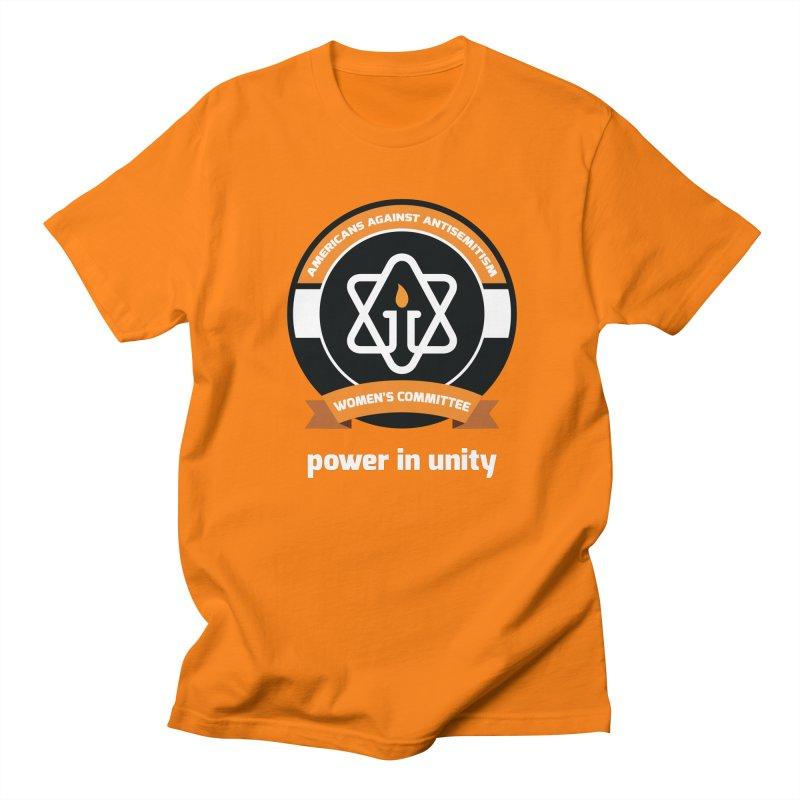 Women's Committee of Americans Against Antisemitism - Dark Background Women's Regular Unisex T-Shirt by Americans Against Antisemitism's Artist Shop
