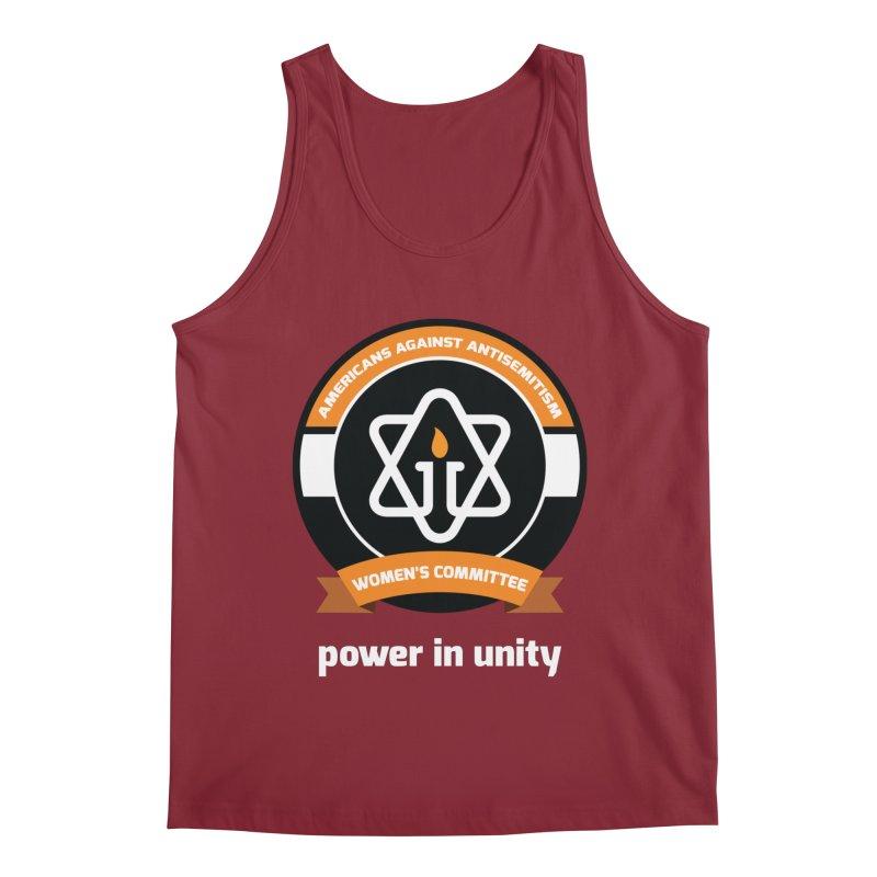 Women's Committee of Americans Against Antisemitism - Dark Background Men's Regular Tank by Americans Against Antisemitism's Artist Shop