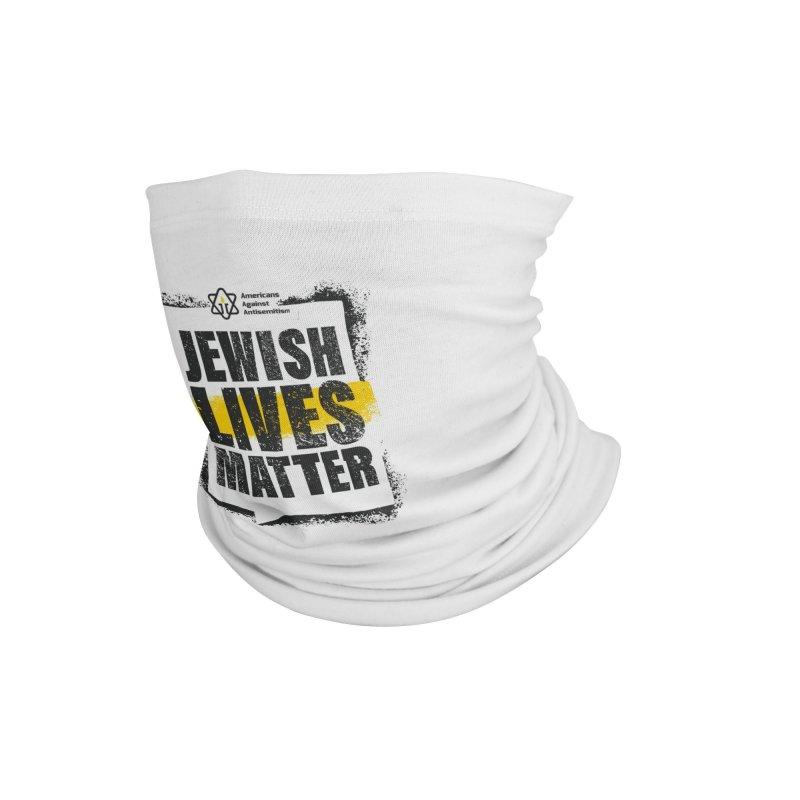 Jewish Lives Matter Accessories Neck Gaiter by Americans Against Antisemitism's Artist Shop
