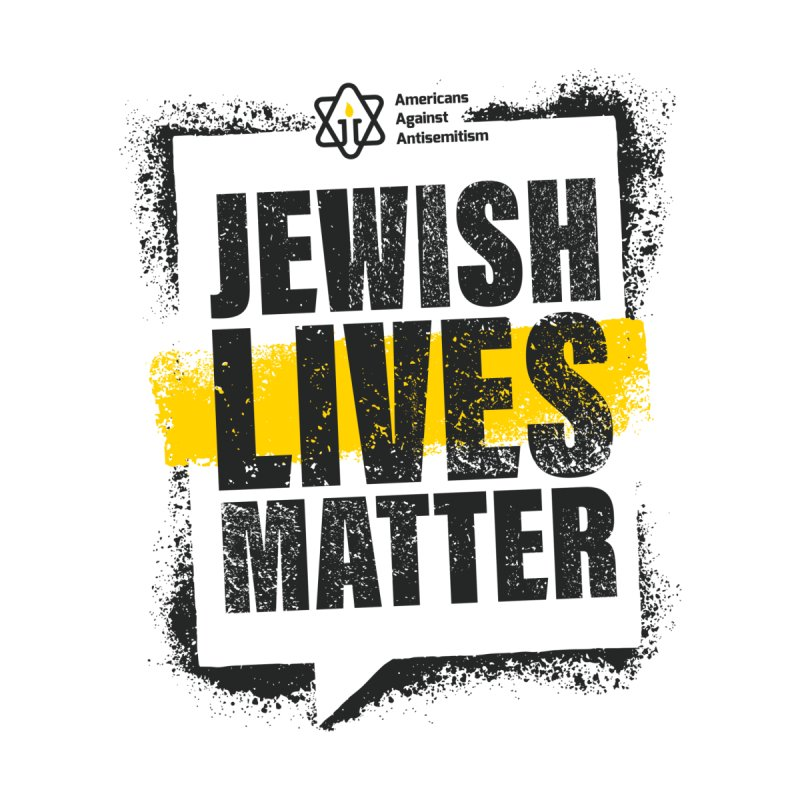 Jewish Lives Matter Kids Toddler Longsleeve T-Shirt by Americans Against Antisemitism's Artist Shop