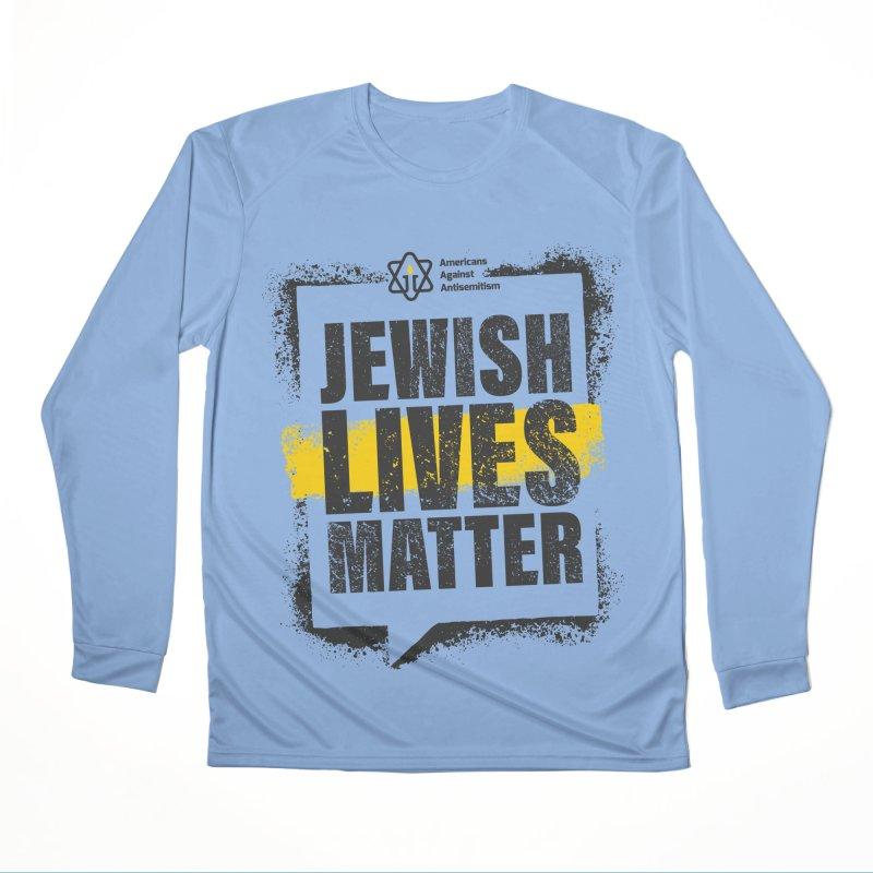 Jewish Lives Matter Women's Longsleeve T-Shirt by Americans Against Antisemitism's Artist Shop