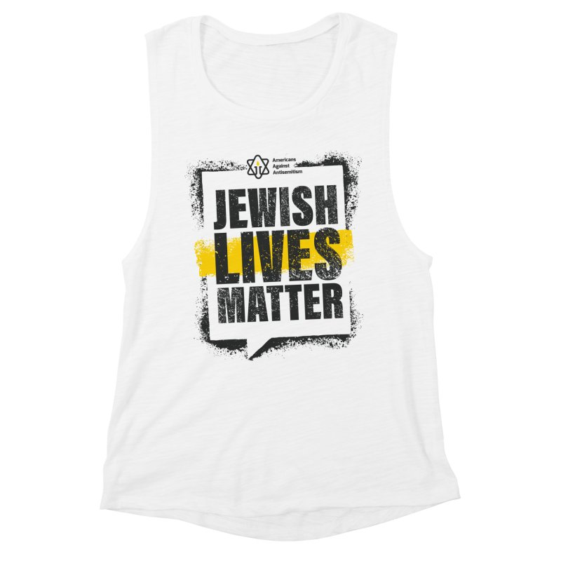Jewish Lives Matter Women's Tank by Americans Against Antisemitism's Artist Shop