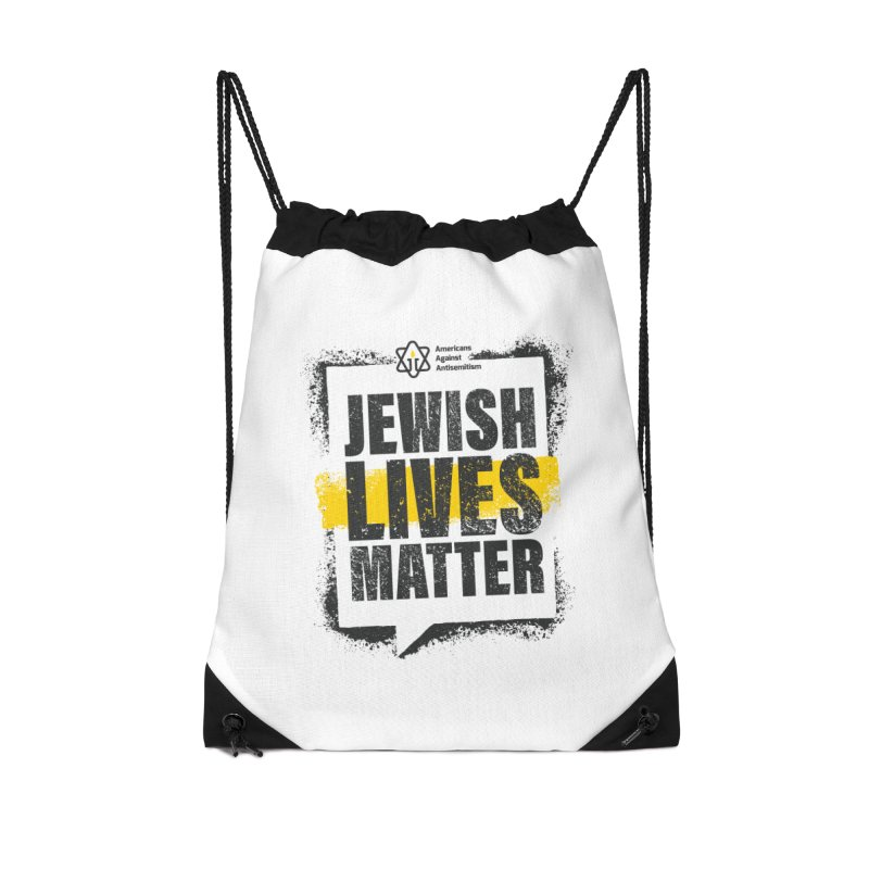 Jewish Lives Matter Accessories Bag by Americans Against Antisemitism's Artist Shop