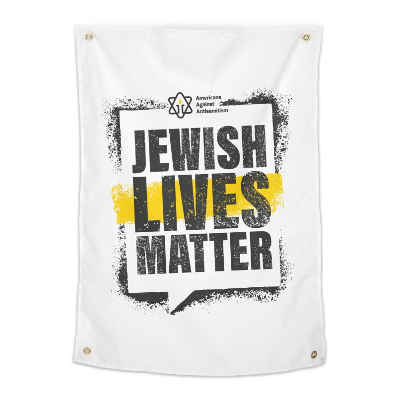 Jewish Lives Matter Home Tapestry by Americans Against Antisemitism's Artist Shop