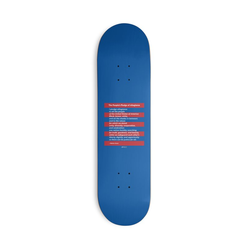 The People's Pledge of Allegiance Accessories Skateboard by American Wisdom