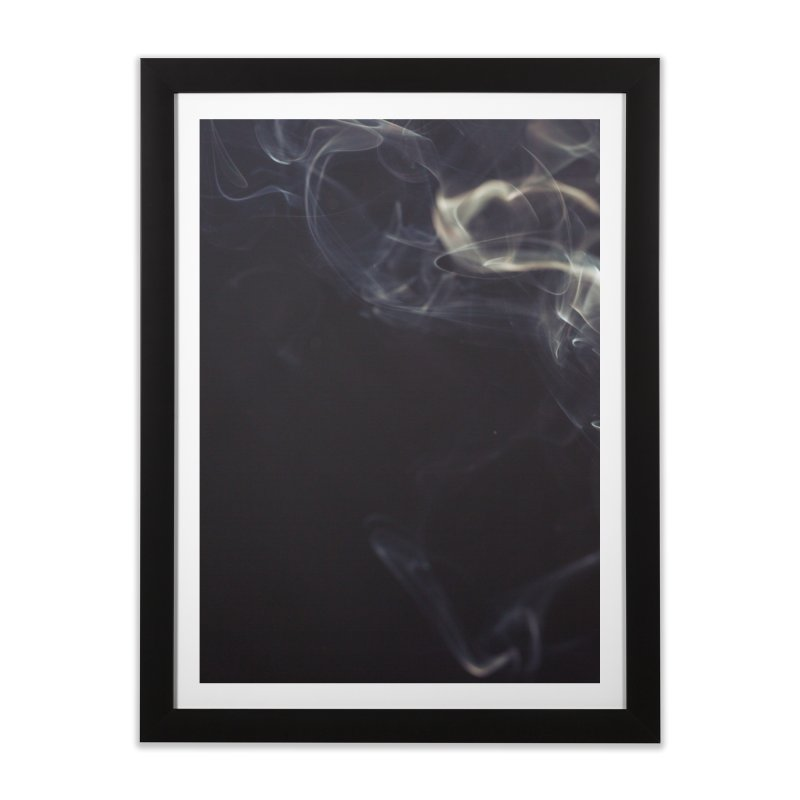 NERVE in Framed Fine Art Print Black by Ames32