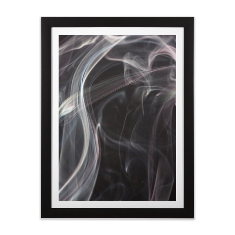 TRAILS in Framed Fine Art Print Black by Ames32