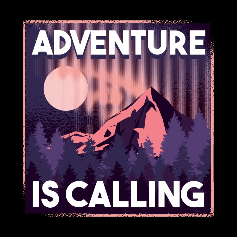 Adventure Is Calling Men's T-Shirt by Amid The Wild