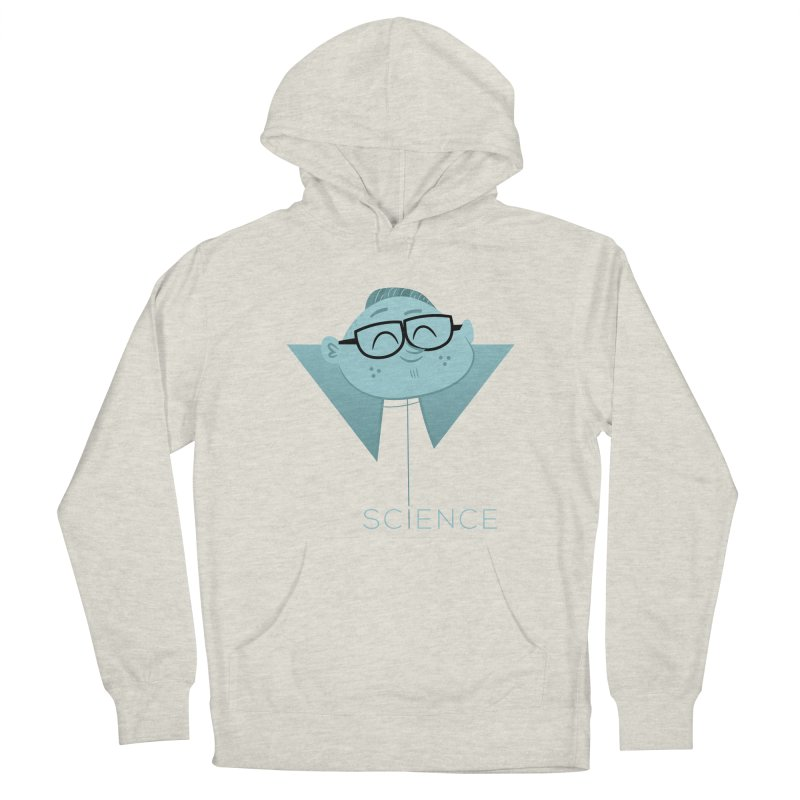 Science Boy Women's French Terry Pullover Hoody by amirabouroumie's Artist Shop