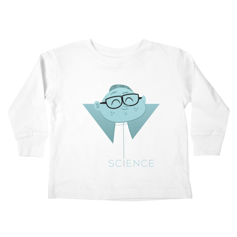 Science Boy Kids Toddler Longsleeve T-Shirt by amirabouroumie's Artist Shop