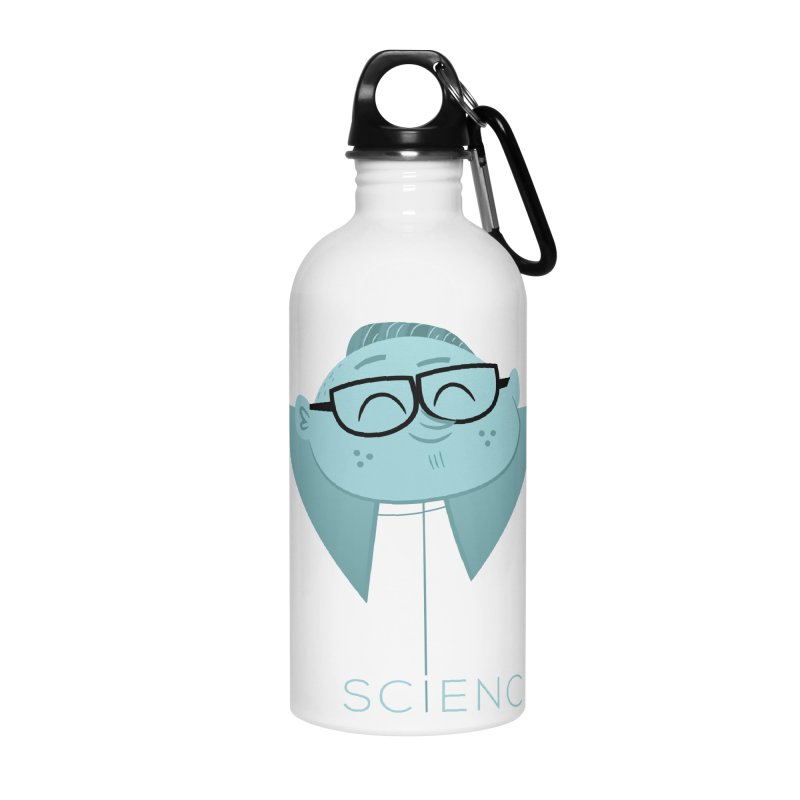 Science Boy Accessories Water Bottle by amirabouroumie's Artist Shop