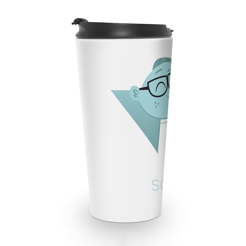 Science Boy Accessories Travel Mug by amirabouroumie's Artist Shop