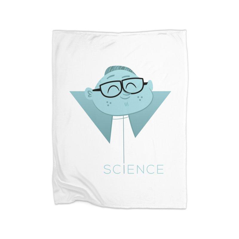 Science Boy Home Fleece Blanket Blanket by amirabouroumie's Artist Shop