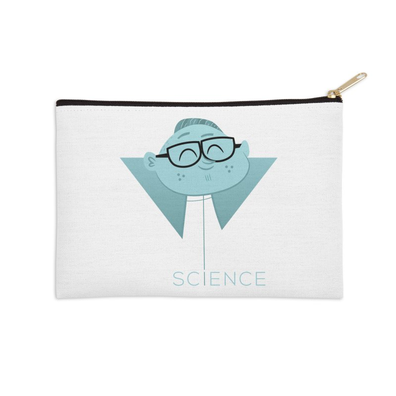 Science Boy Accessories Zip Pouch by amirabouroumie's Artist Shop