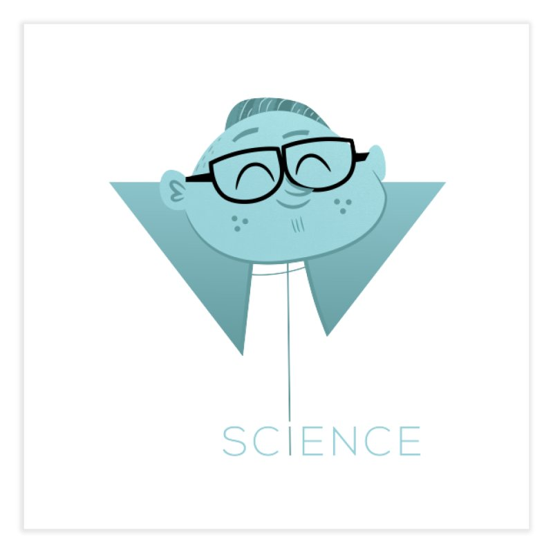 Science Boy Home Fine Art Print by amirabouroumie's Artist Shop