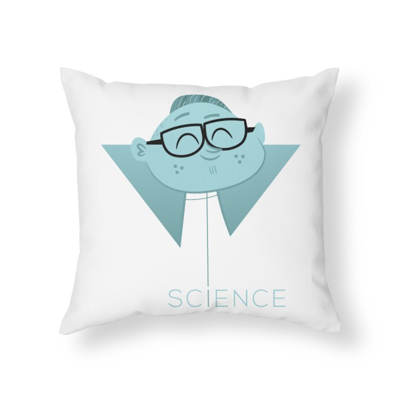 Science Boy Home Throw Pillow by amirabouroumie's Artist Shop