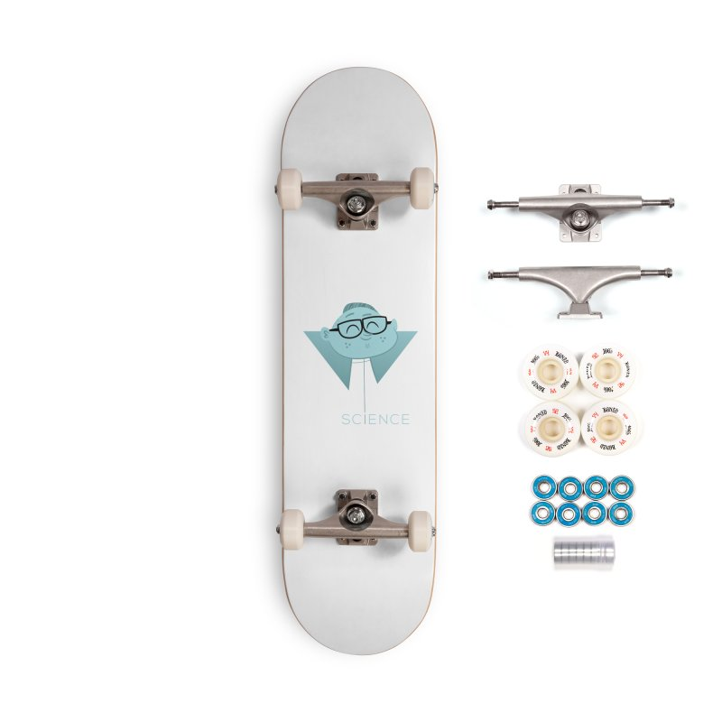 Science Boy Accessories Complete - Premium Skateboard by amirabouroumie's Artist Shop