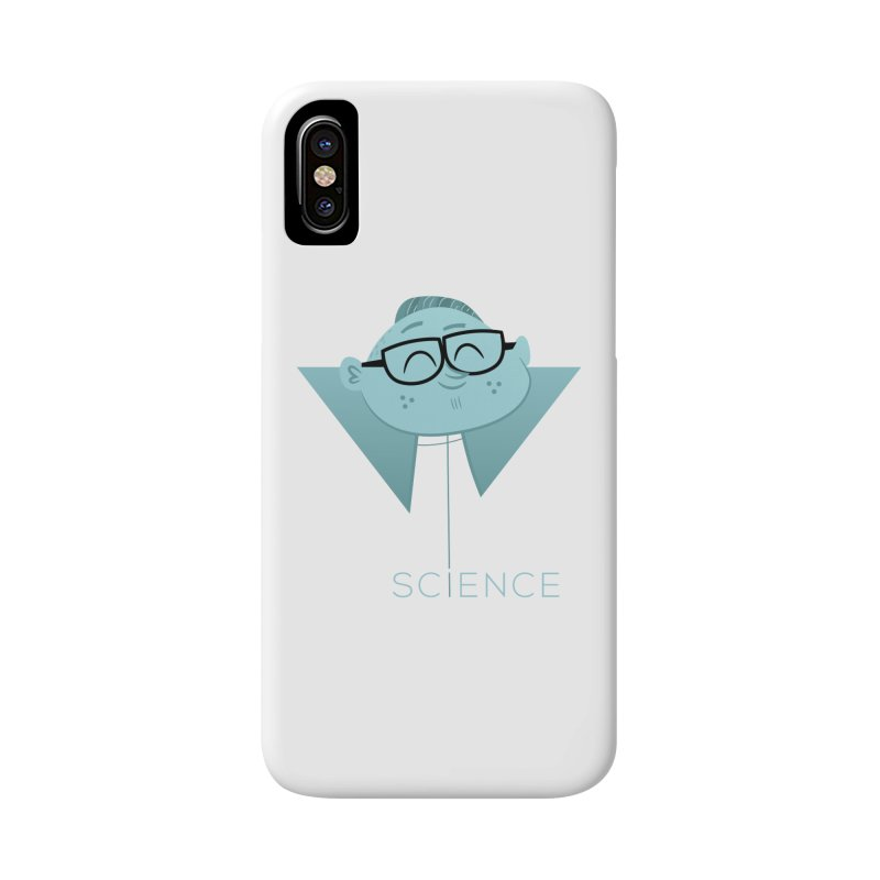Science Boy Accessories Phone Case by amirabouroumie's Artist Shop