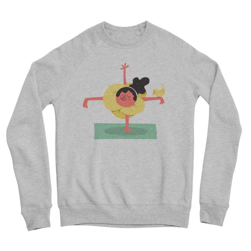 I Love Yoga Women's Sponge Fleece Sweatshirt by amirabouroumie's Artist Shop