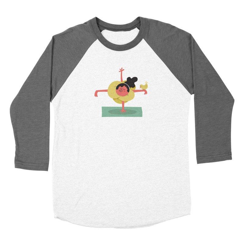 I Love Yoga Women's Longsleeve T-Shirt by amirabouroumie's Artist Shop