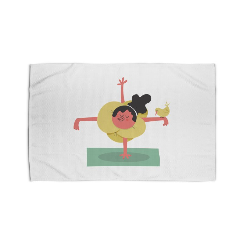 I Love Yoga Home Rug by amirabouroumie's Artist Shop