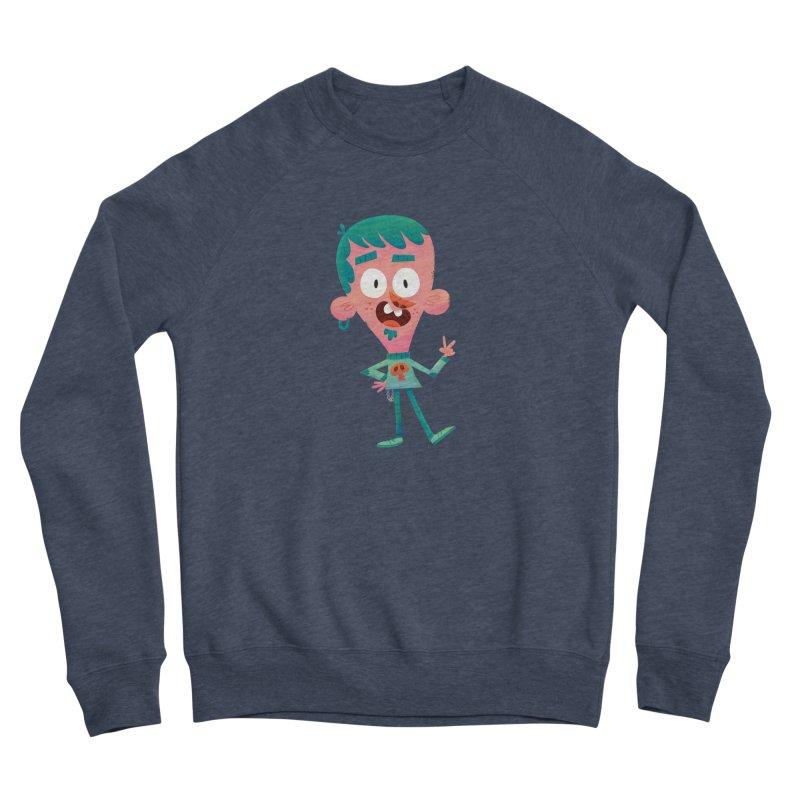 Rock On Women's Sponge Fleece Sweatshirt by amirabouroumie's Artist Shop