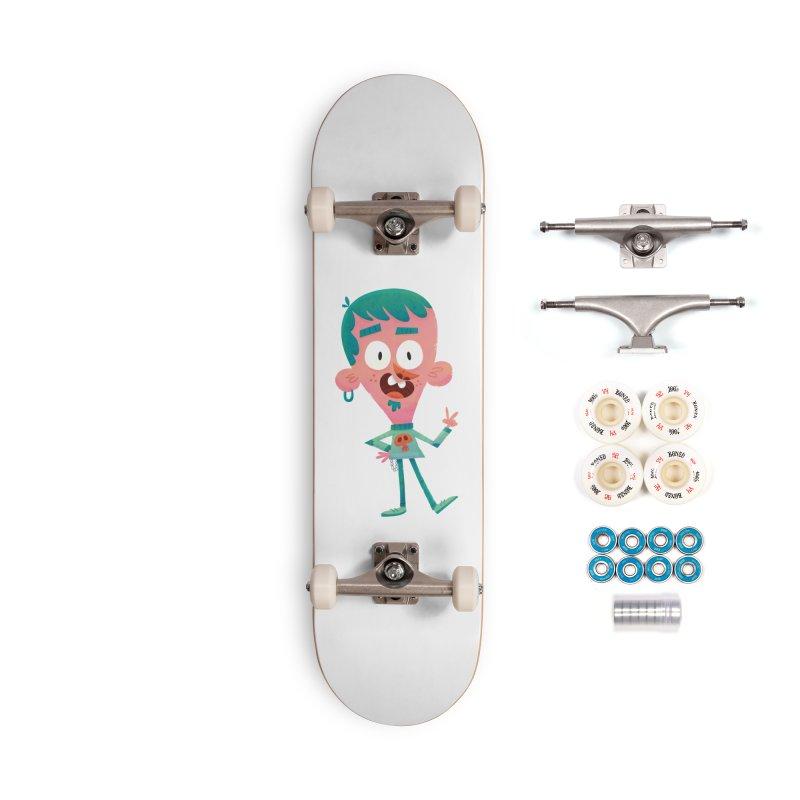 Rock On Accessories Complete - Premium Skateboard by amirabouroumie's Artist Shop