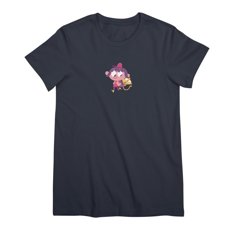Best Friends Forever! Women's Premium T-Shirt by amirabouroumie's Artist Shop
