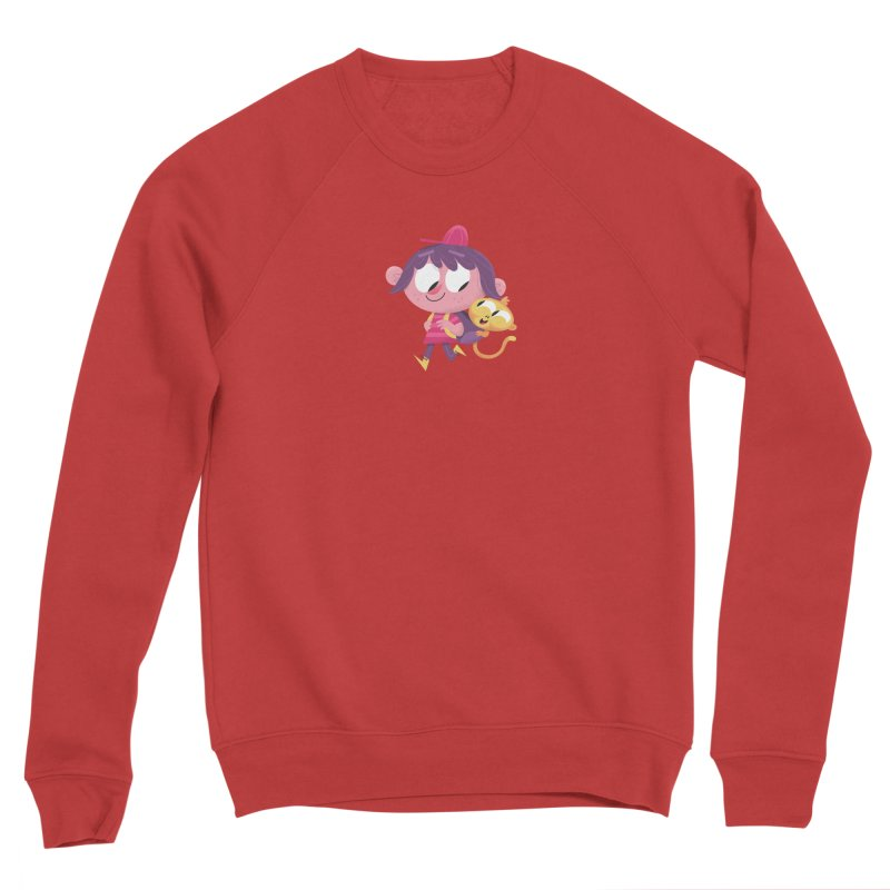 Best Friends Forever! Men's Sponge Fleece Sweatshirt by amirabouroumie's Artist Shop
