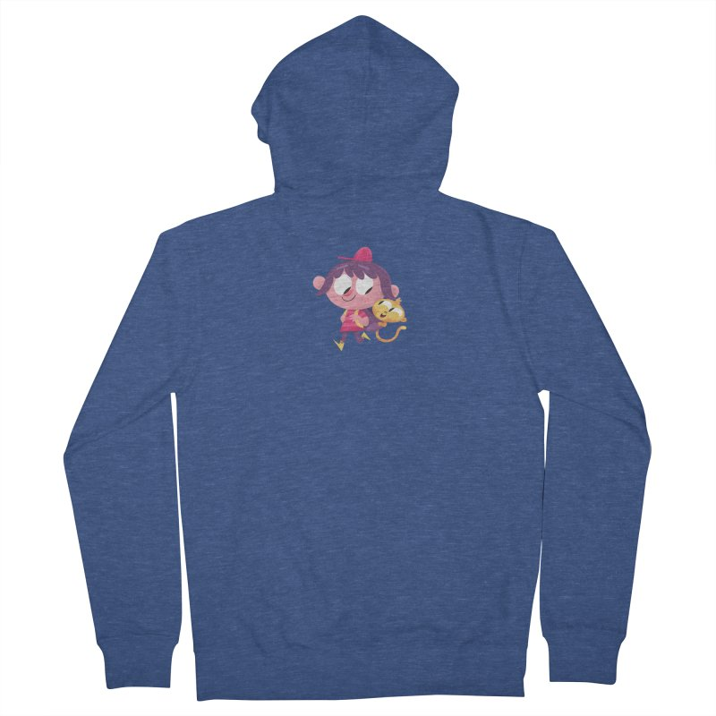 Best Friends Forever! Men's French Terry Zip-Up Hoody by amirabouroumie's Artist Shop