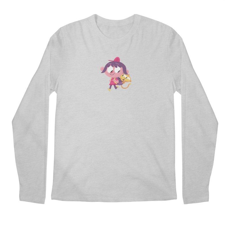 Best Friends Forever! Men's Regular Longsleeve T-Shirt by amirabouroumie's Artist Shop