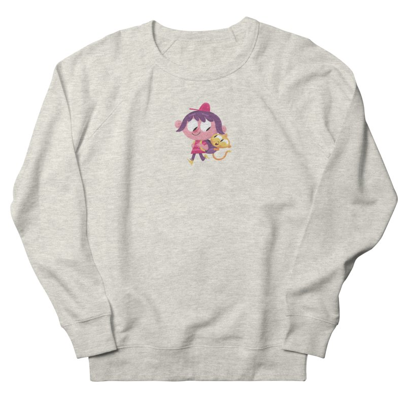 Best Friends Forever! Women's French Terry Sweatshirt by amirabouroumie's Artist Shop