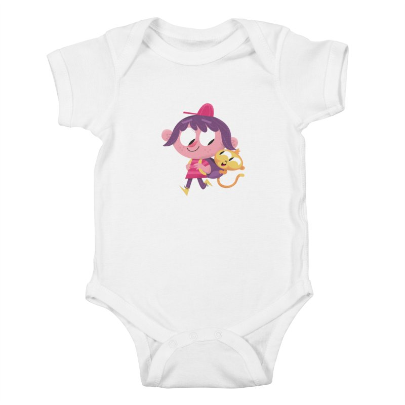Best Friends Forever! Kids Baby Bodysuit by amirabouroumie's Artist Shop