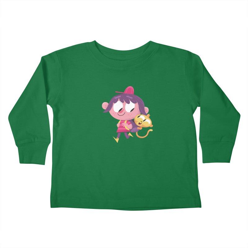 Best Friends Forever! Kids Toddler Longsleeve T-Shirt by amirabouroumie's Artist Shop