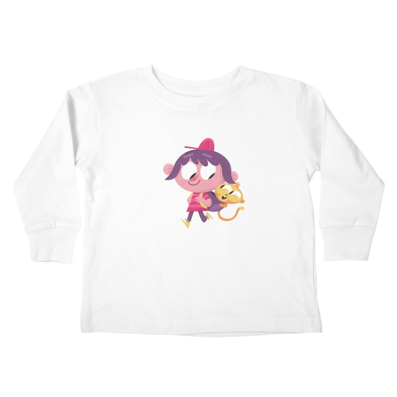 Best Friends Forever! Kids Toddler Longsleeve T-Shirt by amirabouroumie's Artist Shop